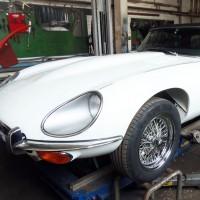 Restaurierung Jaguar Oldtimer